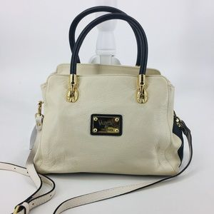 Valentina Pebbled Leather Made in Italy Handbag
